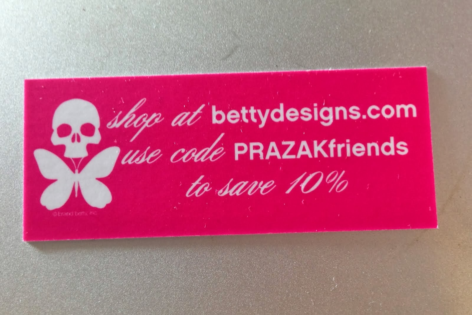 I'm a Betty! And I want you to enjoy a discount on Betty Designs apparel, gear and more!
