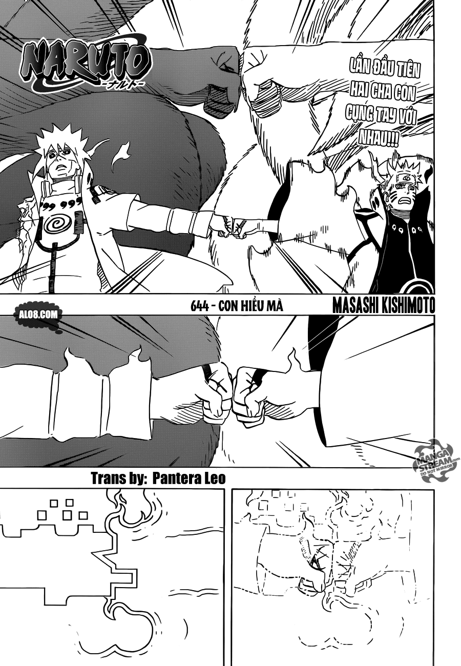Naruto chap 644 Trang 1