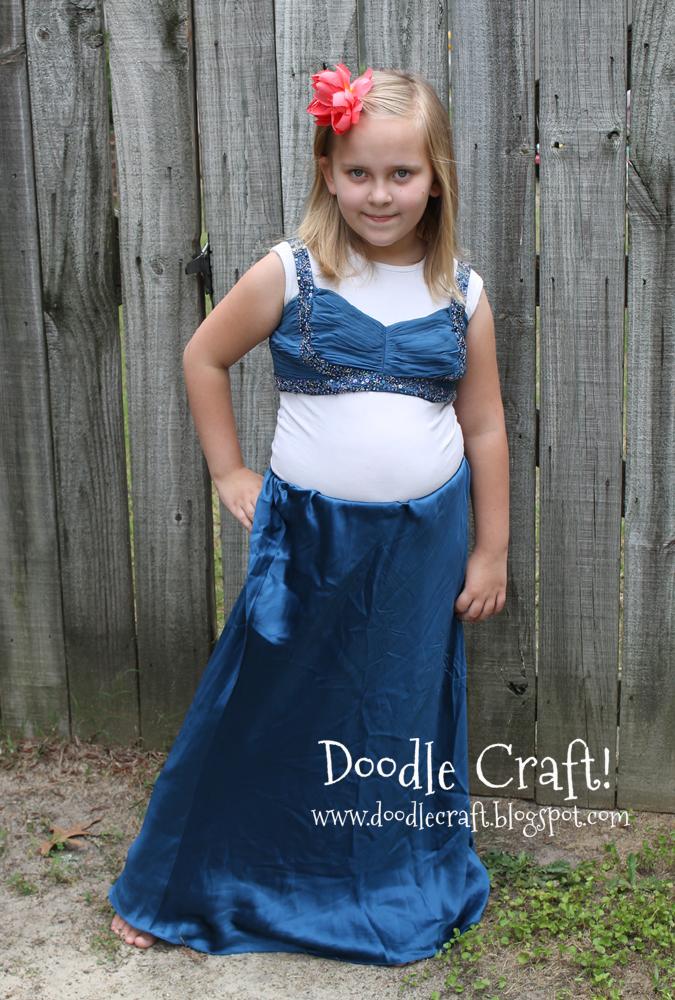 Trippy Prom Dress