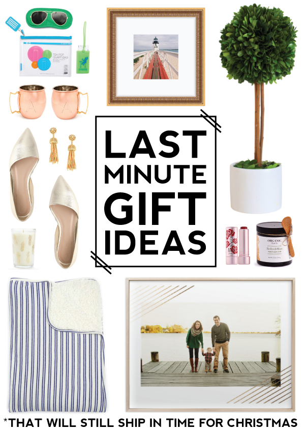 last minute gift ideas -- that will still ship in time for Christmas!