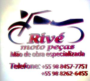 RIVÉ MOTO PEÇAS. MECÂNICO TREINADO DIRETAMENTE DA FÁBRICA DA HONDA.
