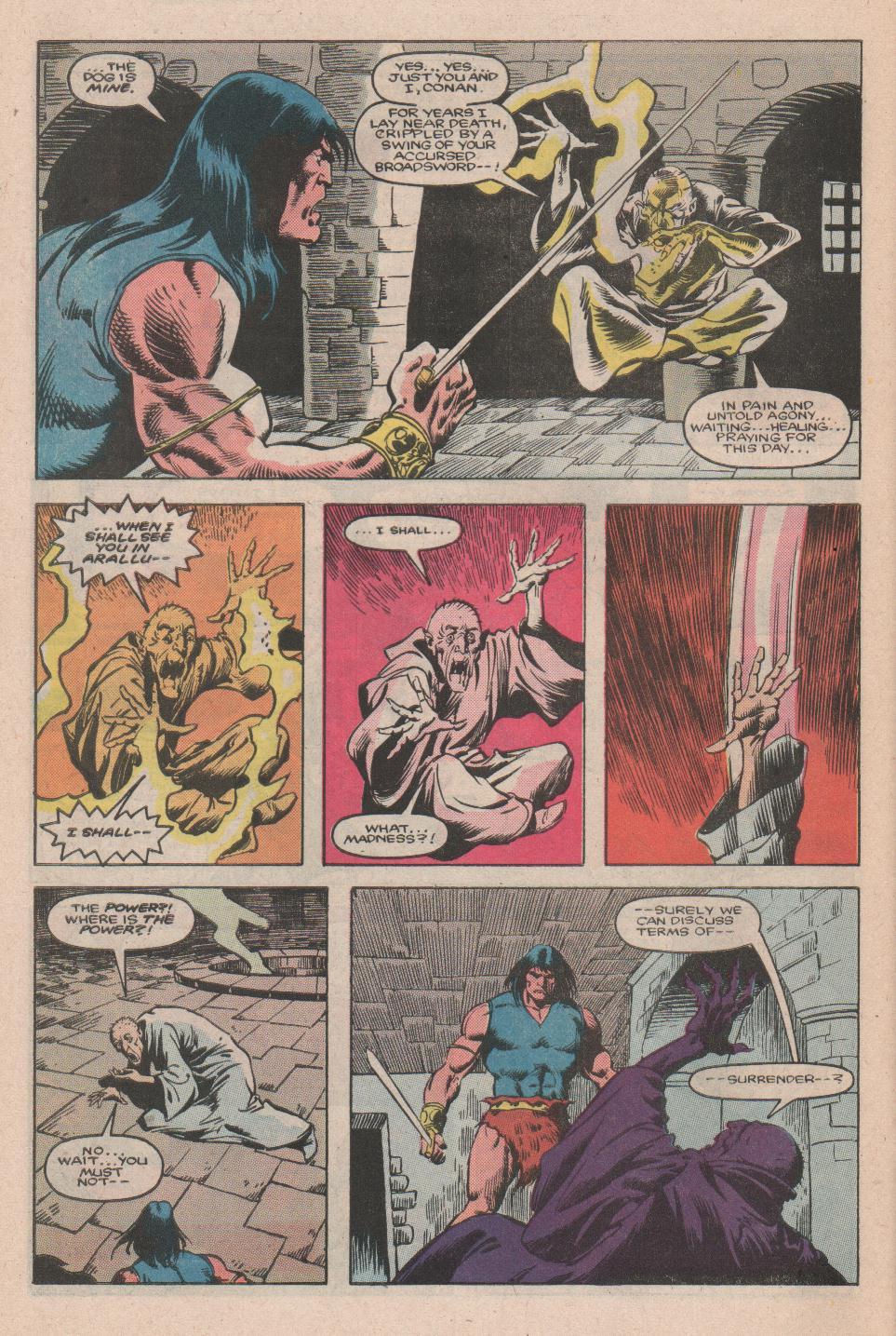 Conan the Barbarian (1970) Issue #177 #189 - English 21