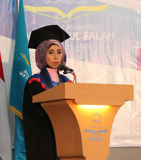 Sambutan Wisudawan Terbaik IPMAFA Tahun Akademik 2015