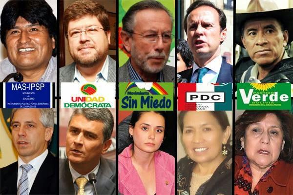 Elecciones pesidenciales Bolivia 2014