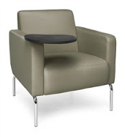 Triumph Tablet Chair by OFM