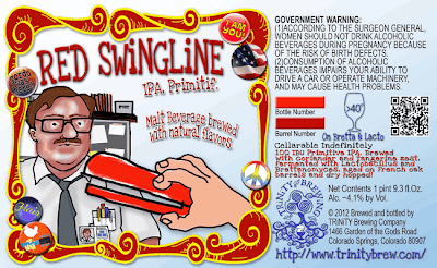 Trinity Brewing Red Swingline IPA Primitif