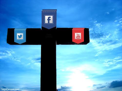 cruz redes sociais facebook twitter pecado