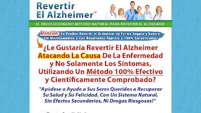 """REVERTIR EL ALZHEIMER Sin lugar a ninguna duda, la Guía """"Revertir El Alzheimer"""" es el programa más completo y efectivo que podrá encontrar en el mercado. Le enseñaré cómo utilizar todo lo que he aprendido en estos años, en un sistema combinado, explicado paso a paso."""