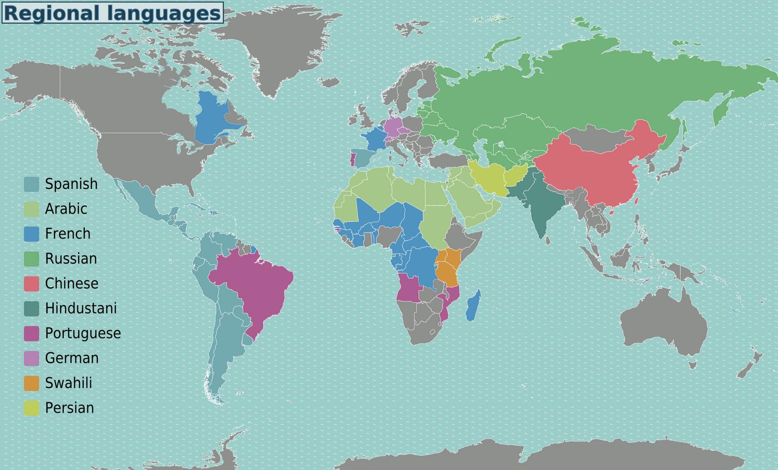 Map World Languages INDO EUROPEAN LANGUAGES MAP