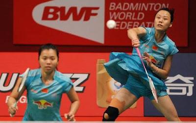 Tian Qing/ Zhao Yunlei Juara Dunia Ganda Putri