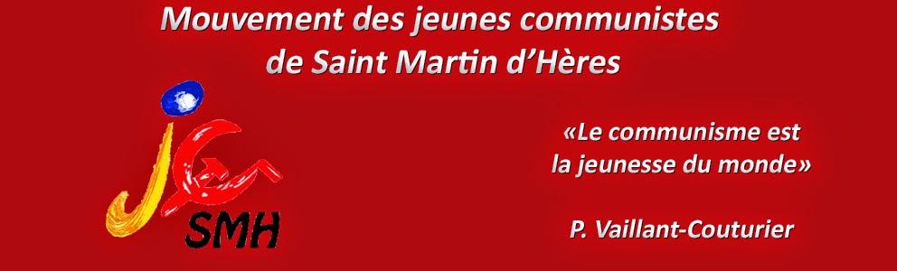 La Jeunesse Communiste de Saint-Martin-d'Hères