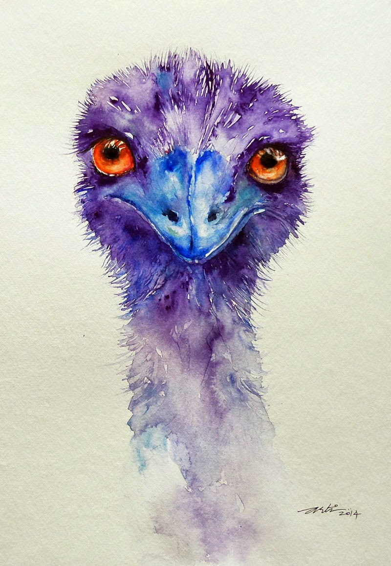 Emu Paintings For Sale