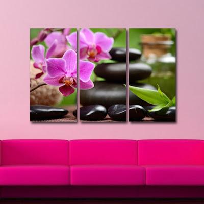 Tablou canvas cu orhidee