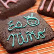 Receta de galletas con mensajes