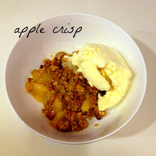 apple crisp, homemade apple crisp