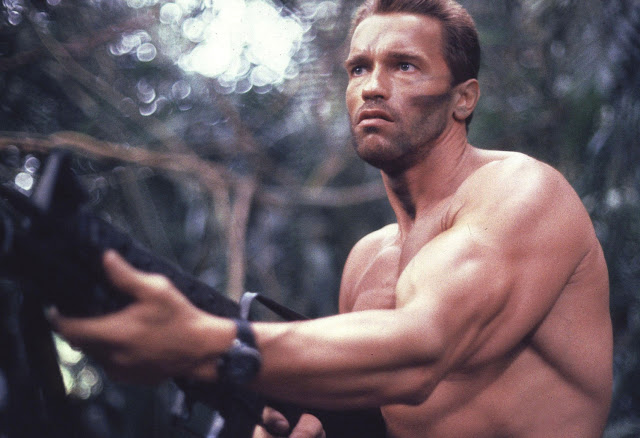Arnold Schwarzenegge,Predator,horror movie