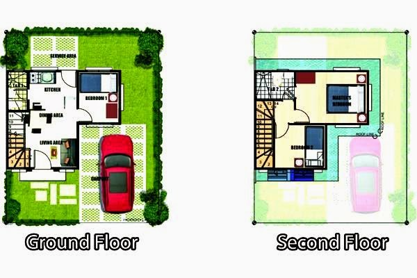 Gabrielle model house floor plan