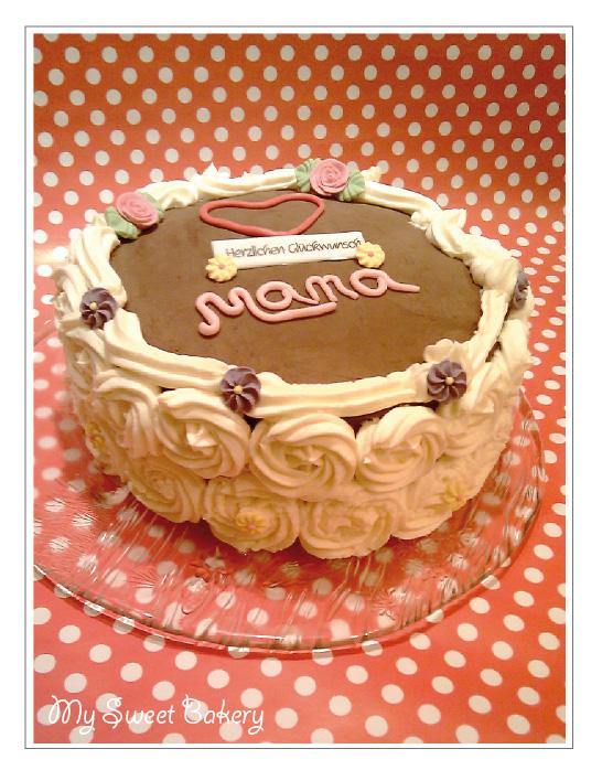 Kuchen zum geburtstag mama