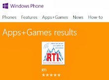 RTI on Windows8 Mobile