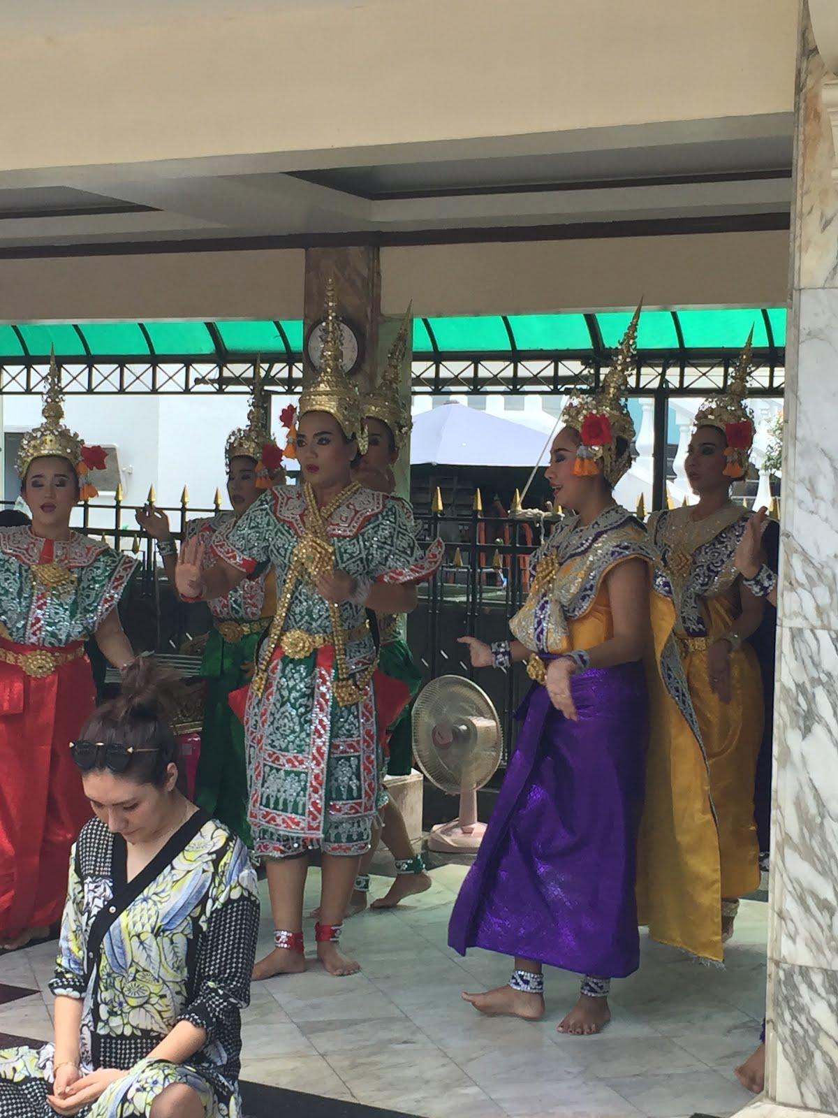 Traditional Thai dance