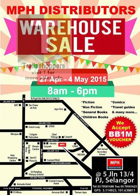 MPH Distributors Warehouse Sale Selangor