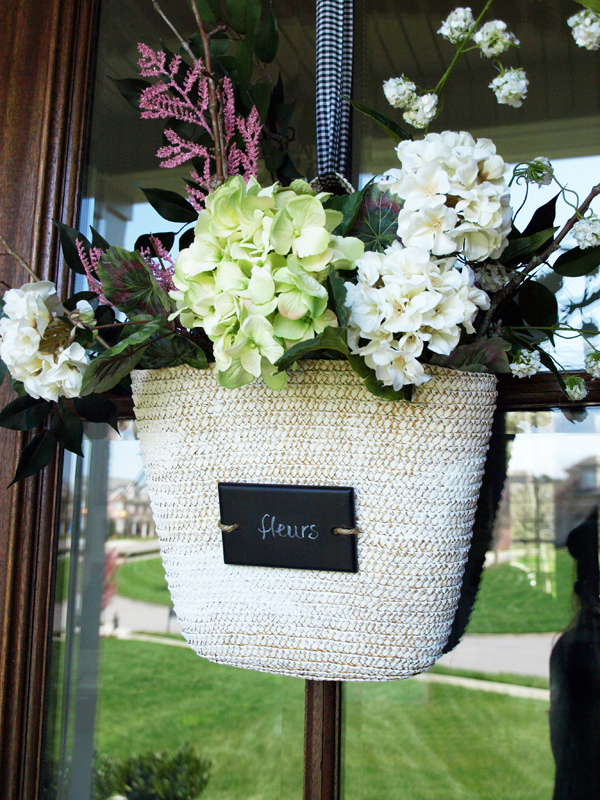 Attractive Front Door Flower Basket How To | Less Than Perfect Life Of Bliss | Home,  Diy, Travel, Parties, Family, Faith,