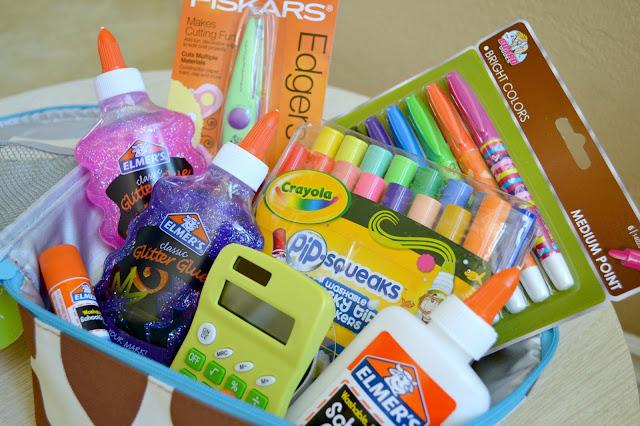 #bagitforward #shop #cfk donating school supplies skip hop giraffe lunch bag
