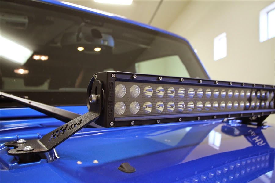 Led light bars australia make your way adventures with safe 4x4 led light bars australia aloadofball Image collections