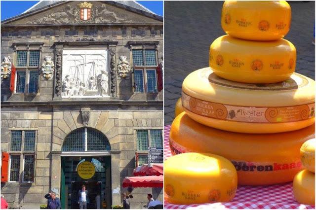 Waag – Queso Gouda en la plaza del antiguo mercado de Gouda