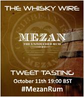 Mezan Rum Tweet Tasting