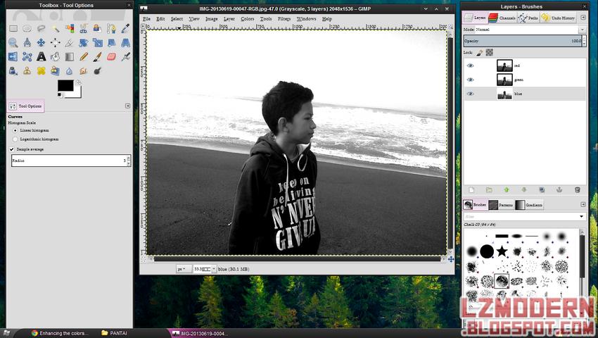 GIMP 2.8 Portable - Photo Editor Seperti Photohop