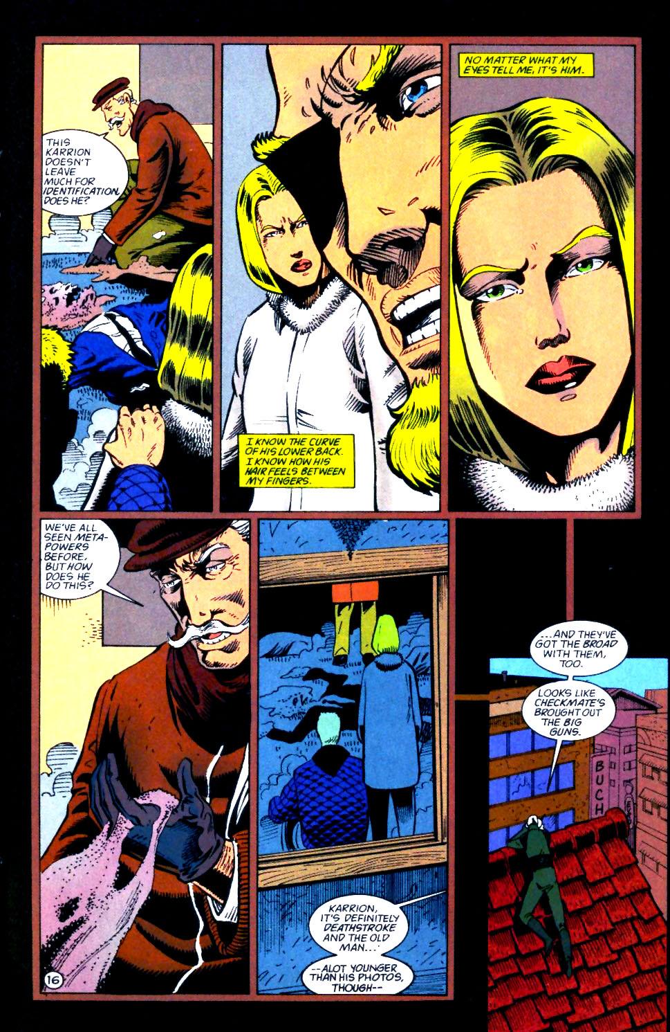 Deathstroke (1991) Issue #56 #61 - English 17
