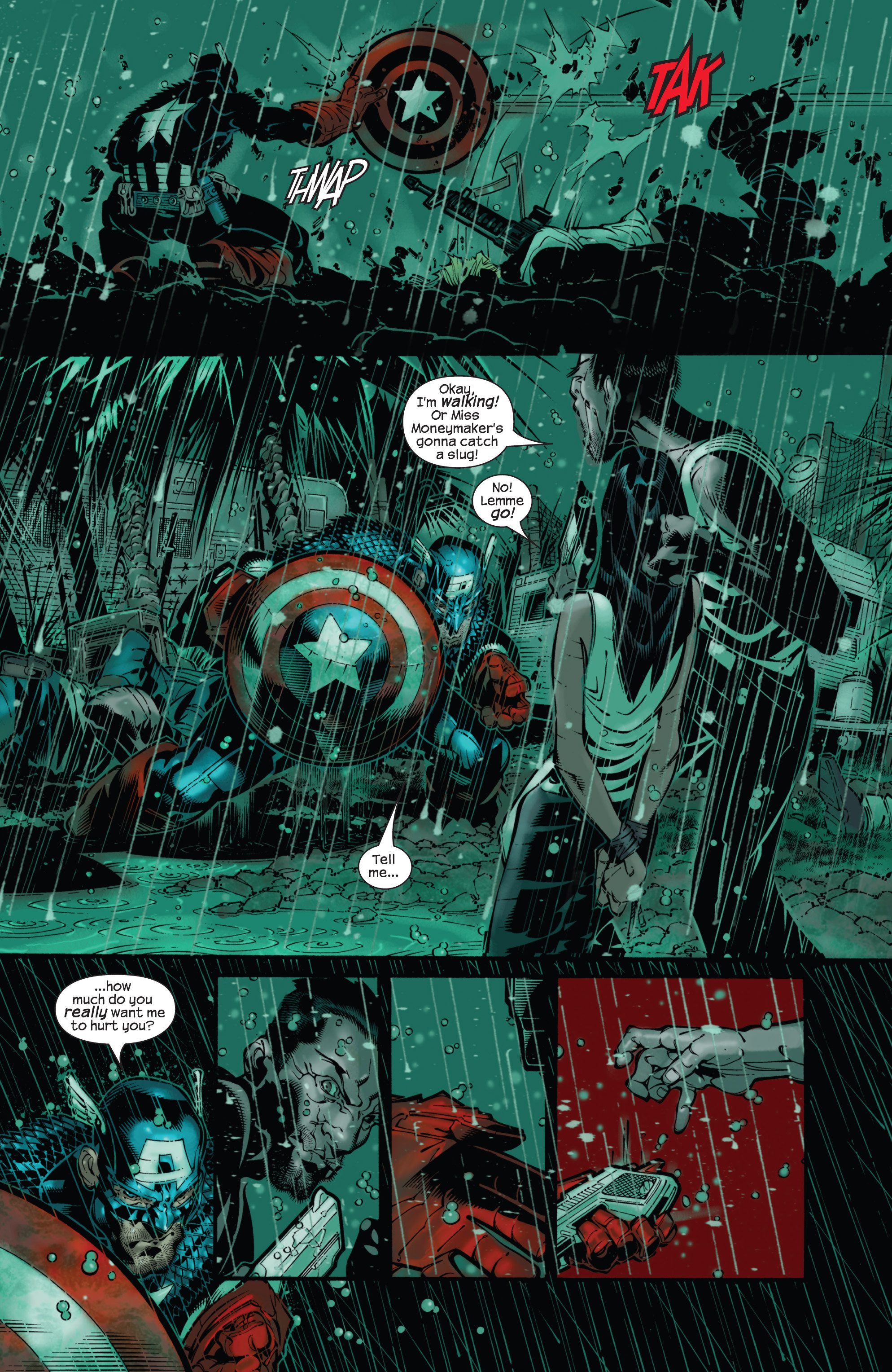 Captain America (2002) Issue #21 #22 - English 7