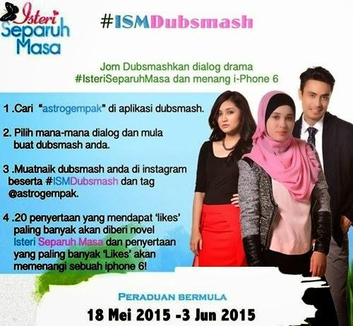 Peraduan Dubsmash Menang i-Phone 6