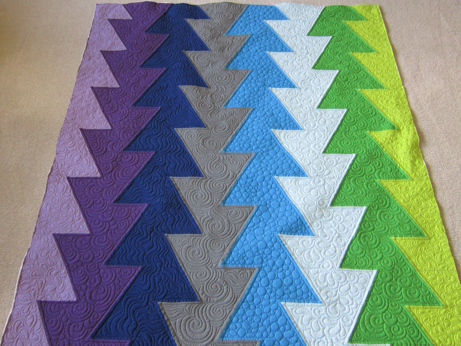 Quilting Is My Bliss: Northern Lights