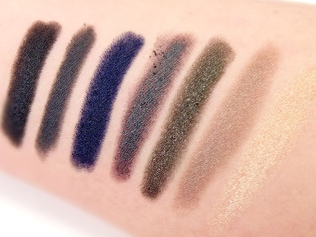 NARS velvet eyeshadow review and swatches