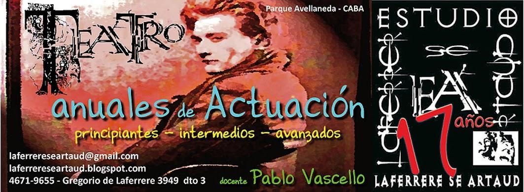 Estudio de teatro Laferrere se Artaud