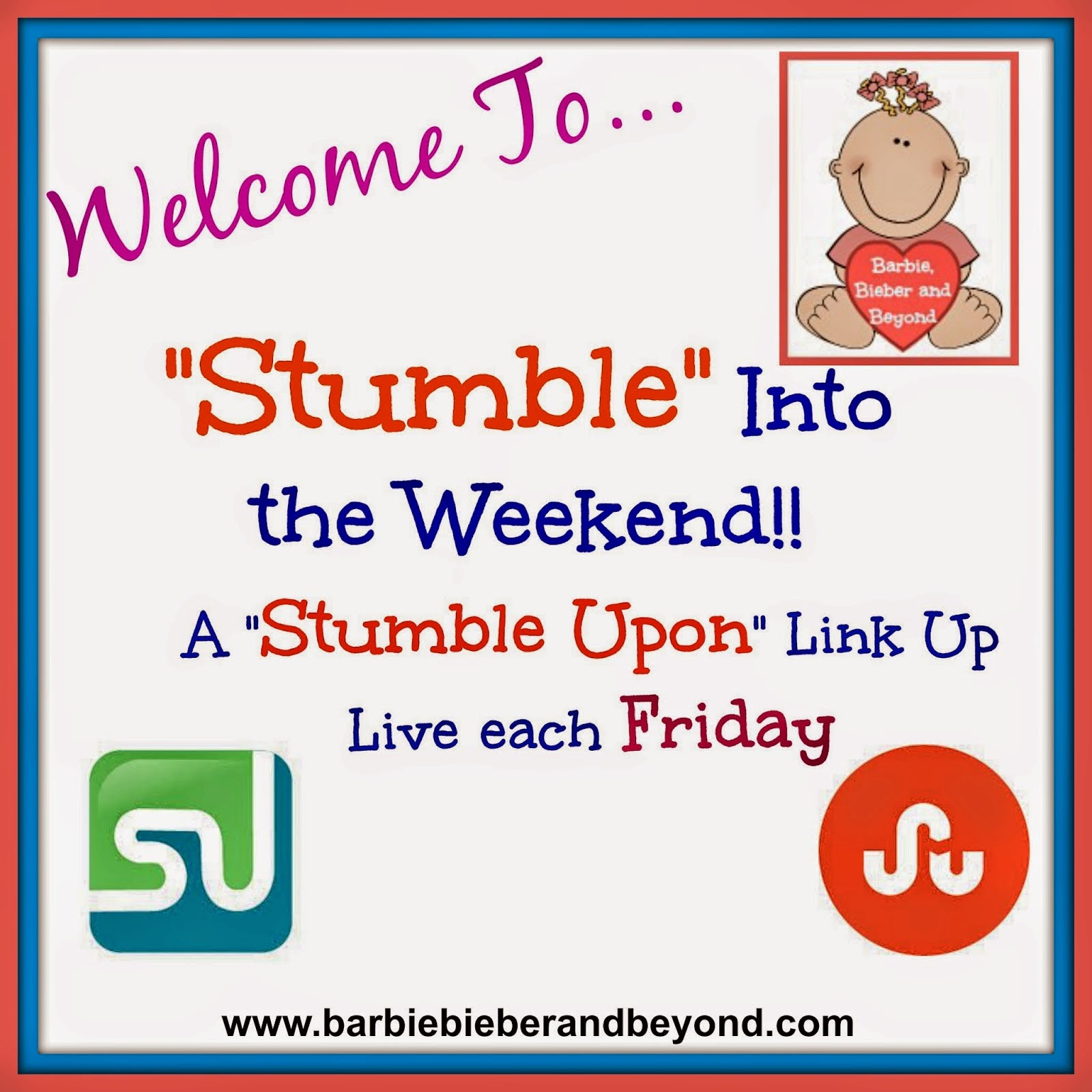 Stumble Into The Weekend-Link Up