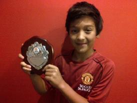 Jack Brown Anak Indonesia Terbaik di Manchester United 2012