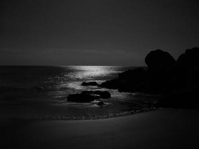 twilight seascape photography