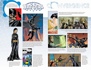 Two page profile in Convergence Batgirl #1 from DC Comics