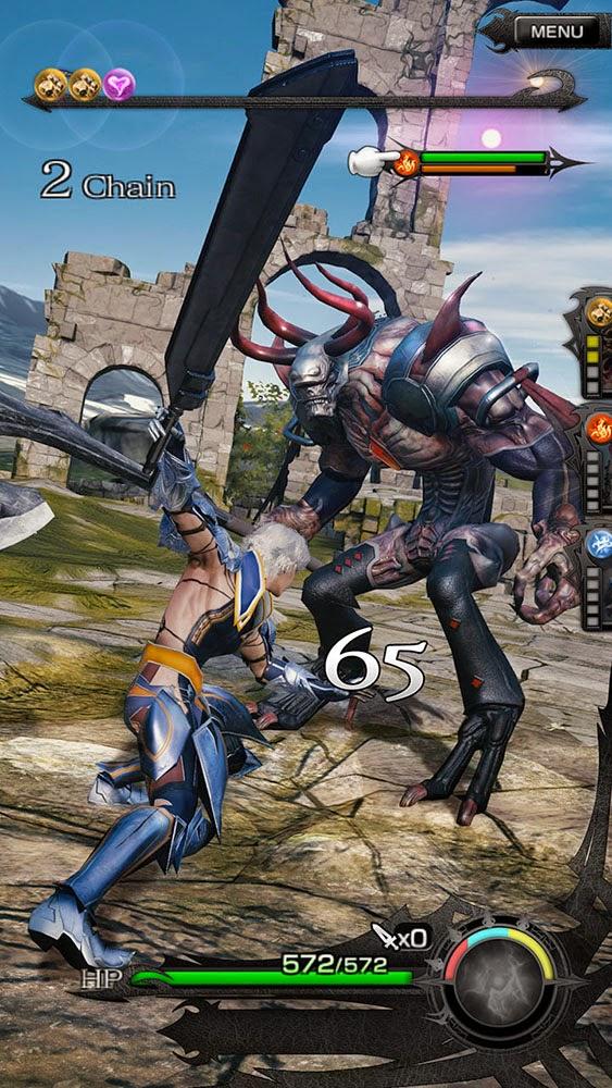 Mobius Final Fantasy, smartphone y tablet