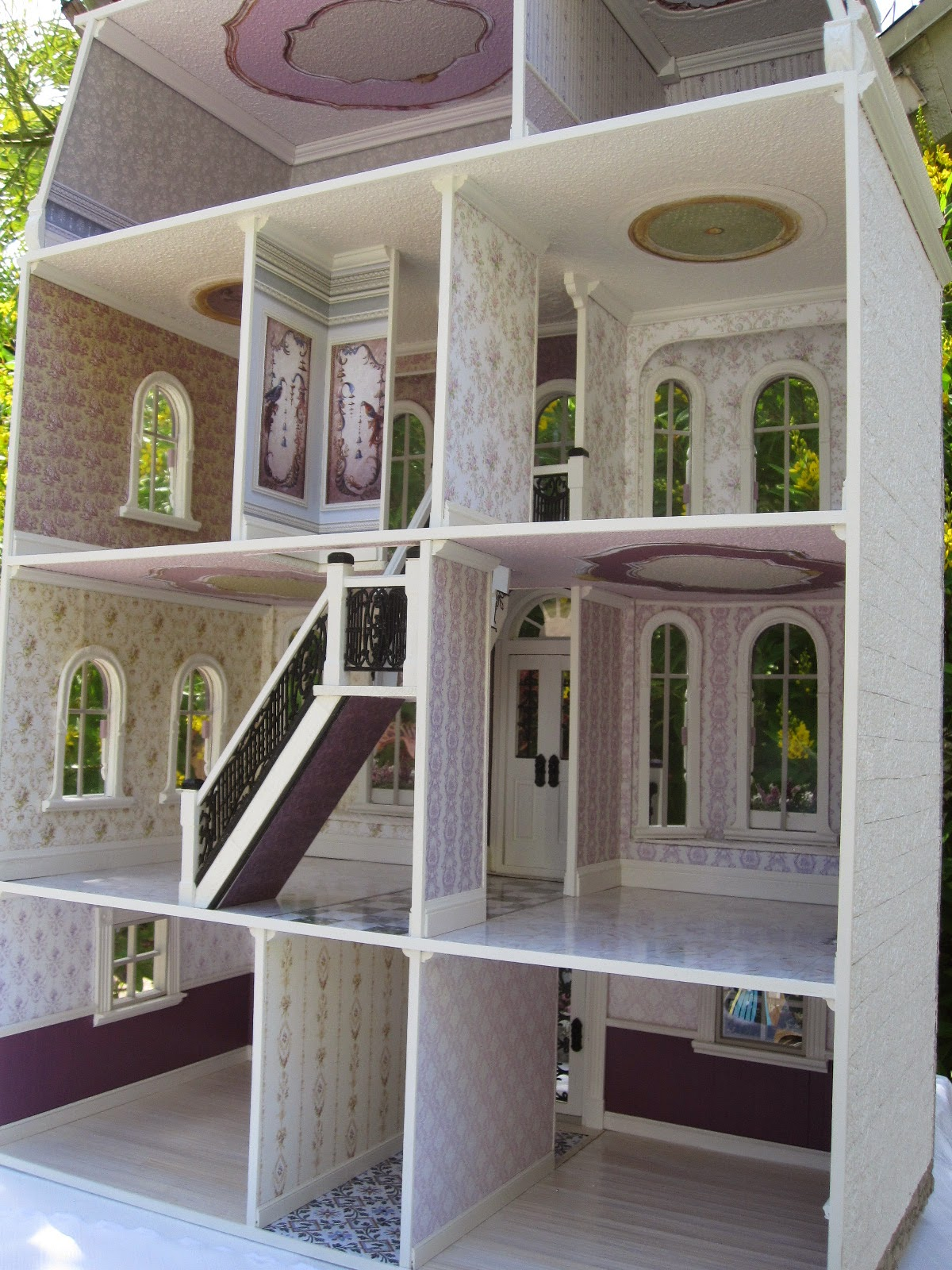 Dollhouses By Robin Carey Quot The Orchid House Quot Dollhouse