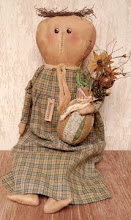 ★Ramona★Doll★   Primitive★Folk Art★Makedo★    Mouse★Spring★