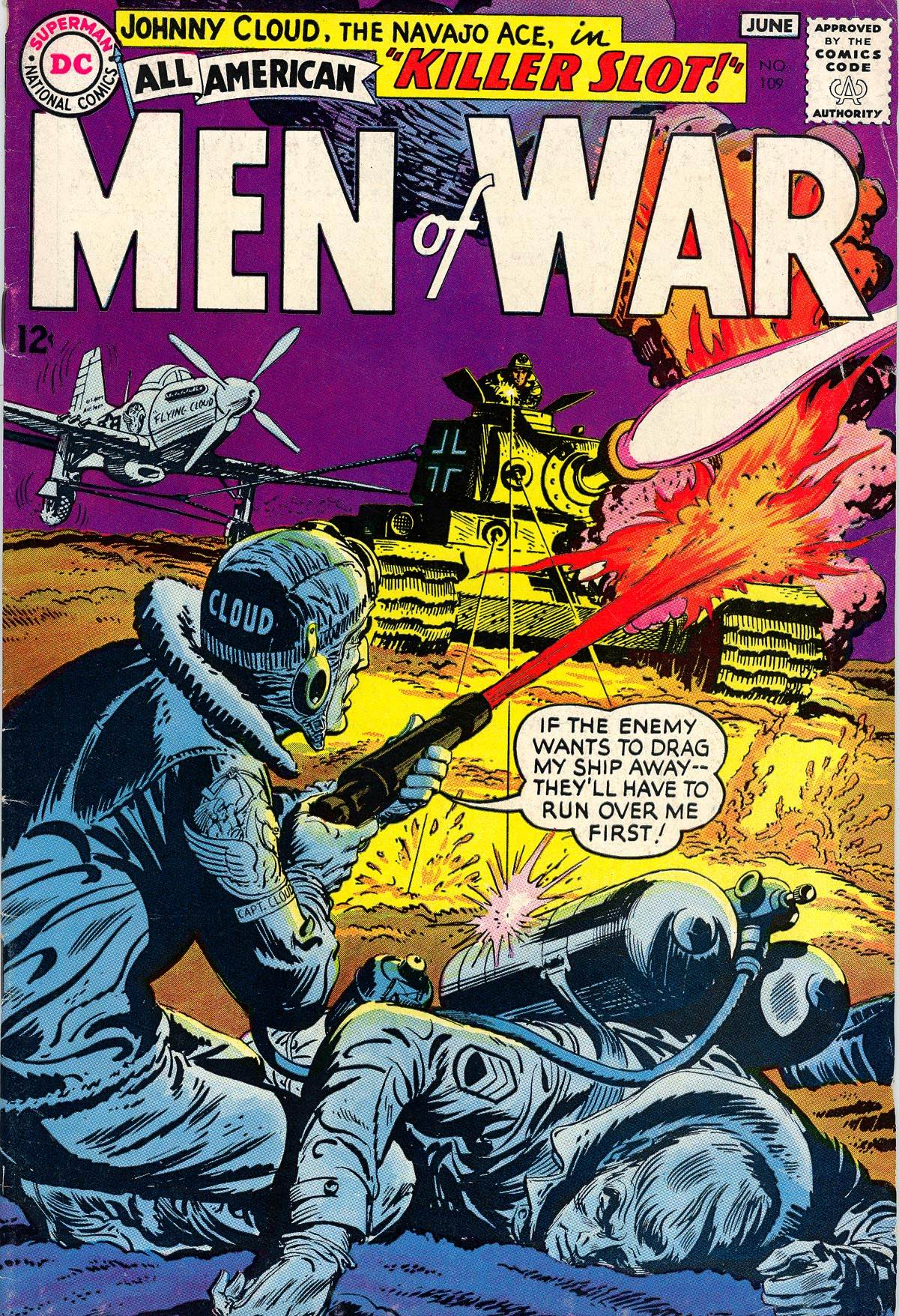 All-American Men of War 109 Page 1