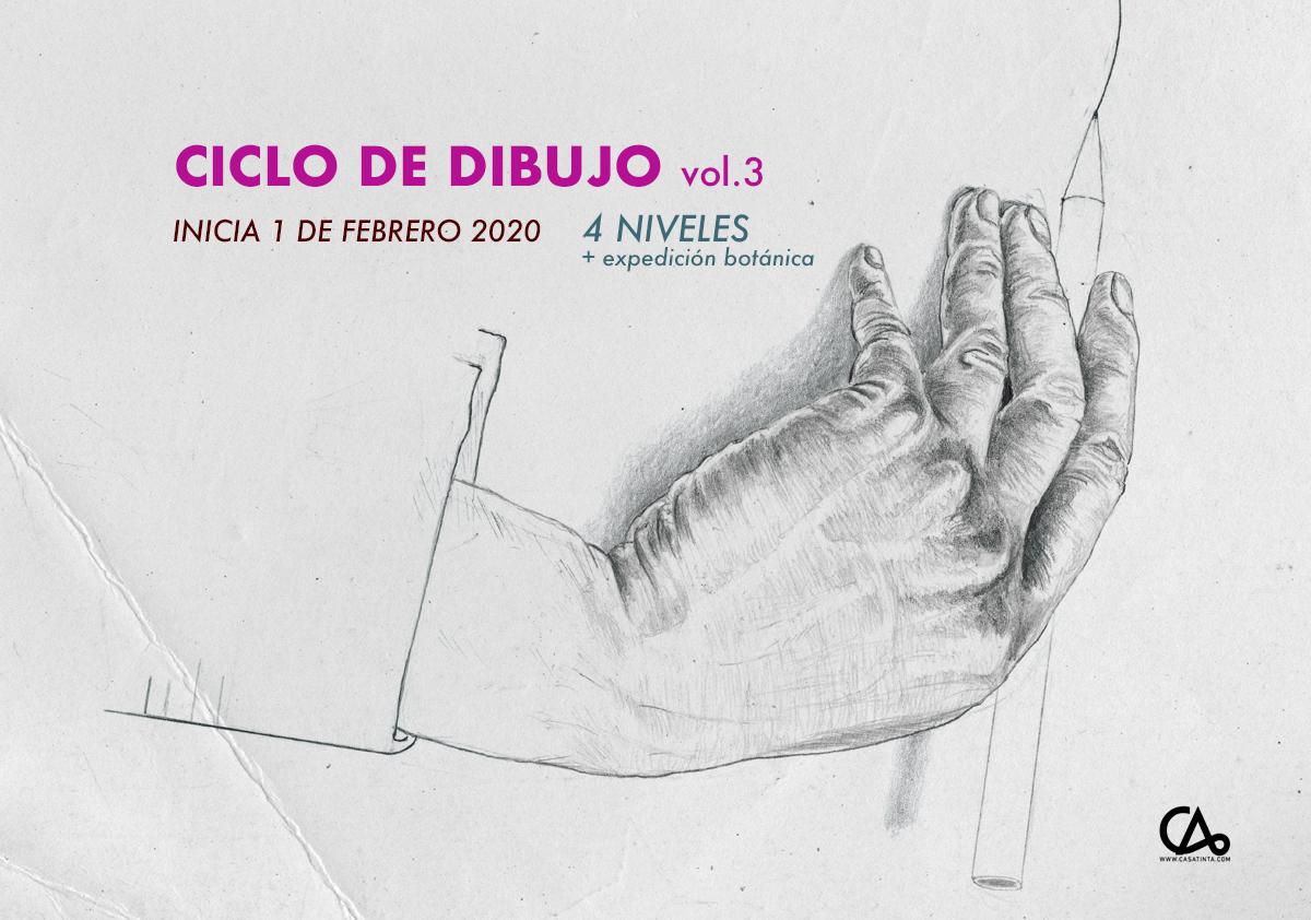 CICLO DE DIBUJO // 1 de feb