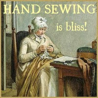 handsewing is bliss