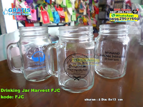Drinking Jar Harvest Fjc