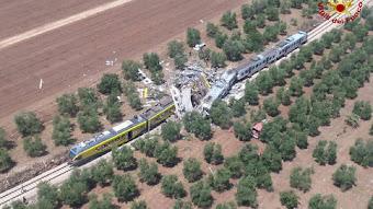 Choque frontal de Trenes en Italia. Balance provisional: 27 muertos y 50 heridos