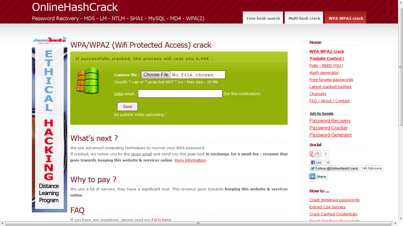 Project this Features: BT4. . For Cracker Password WEPWPA-68 r. Wifite. xe